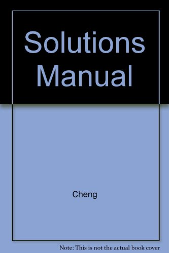 9780201909166: Solutions Manual to accompany Fundamentals of Engineering Electromagnetics