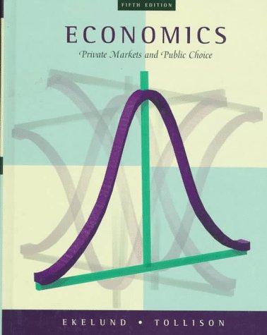 9780201915877: Economics: Private Markets and Public Choice
