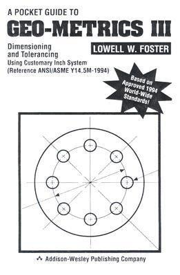 9780201924565: Pocket Guide to Geometrics IIIM Dimensioning