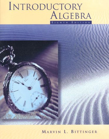 9780201959598: Introductory Algebra (8th Edition)