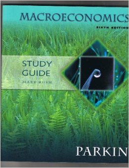 9780201959864: Study Guide for Macroeconomics by Michael Parkin (6th edition)