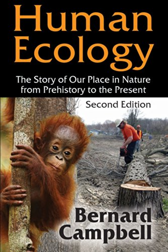 9780202020341: Human Ecology: The Story of Our Place in Nature from Prehistory to the Present