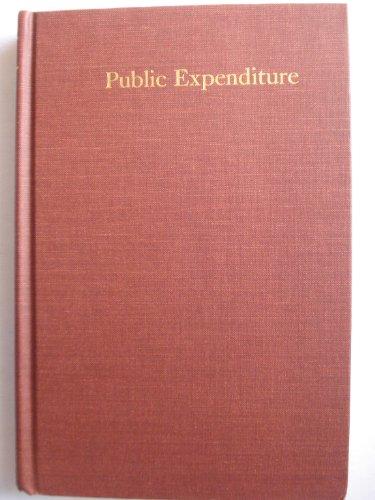 9780202060422: Public Expenditure (Aldine treatises in modern economics)