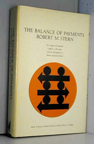 9780202060590: The Balance of Payments: Theory and Economic Policy (Aldine Treatises in Modern Economics)