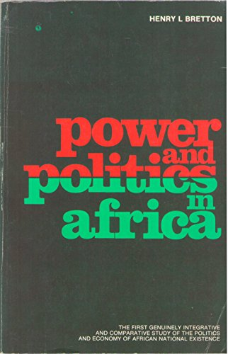 9780202241326: Power and politics in Africa