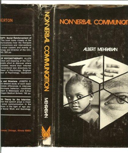 9780202250915: Nonverbal Communication