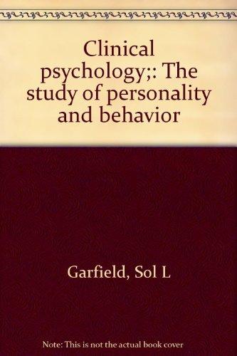 PSICOLOGIA CLÍNICA El estudio de la personalidad y la conducta: Garfield, Sol L