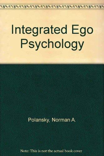 9780202260907: Integrated Ego Psychology