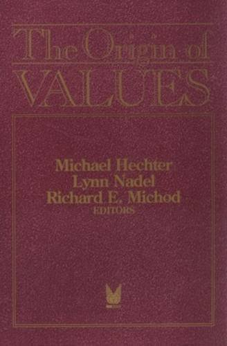 9780202304465: The Origin of Values: Sociology and Philosophy of Beliefs (Sociology and Economics)