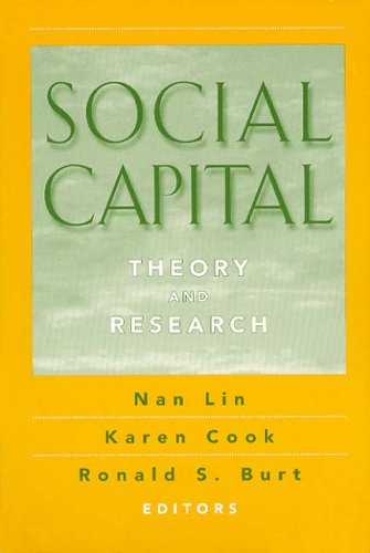9780202306438: Social Capital: Theory and Research (Sociology & Economics S.)
