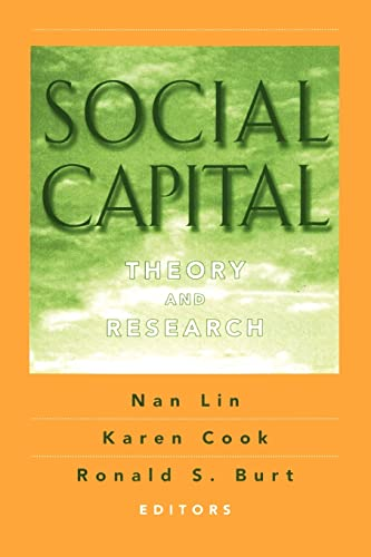 9780202306445: Social Capital: Theory and Research (Sociology & Economics)