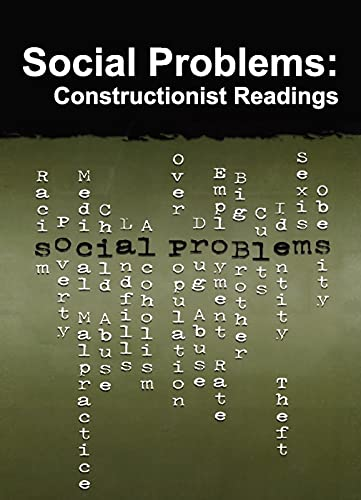9780202307039: Social Problems: Constructionist Readings (Social Problems and Social Issues)