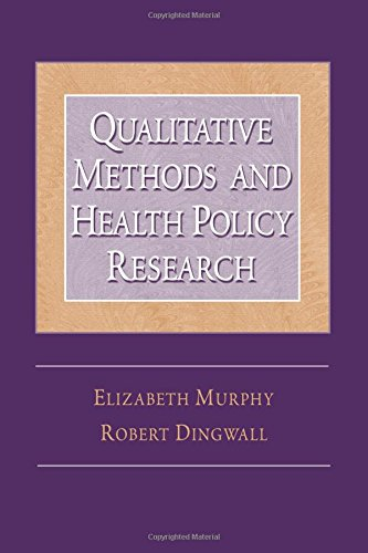 9780202307107: Qualitative Methods and Health Policy Research (Social Problems & Social Issues)