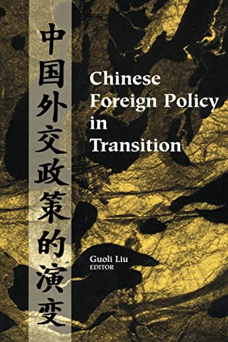 9780202307534: Chinese Foreign Policy in Transition