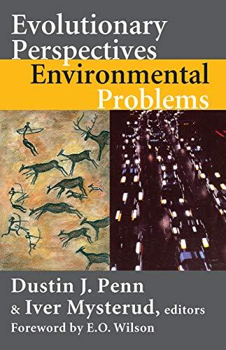 Evolutionary Perspectives on Environmental Problems (Hardback)