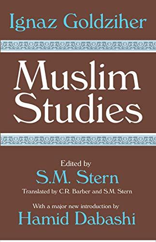 9780202307787: Muslim Studies (v. 1)