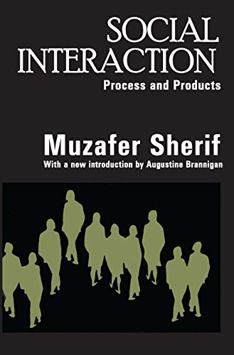9780202307886: Social Interaction: Process and Products