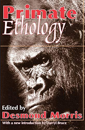 9780202308265: Primate Ethology