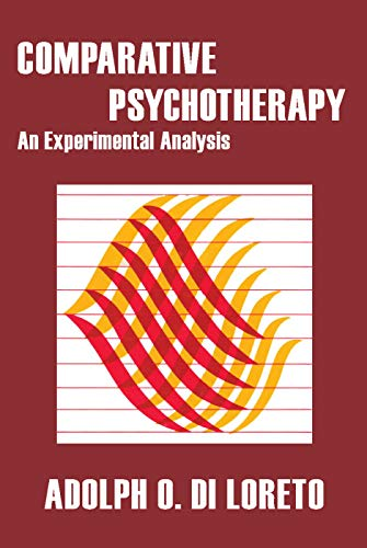 9780202308524: Comparative Psychotherapy: An Experimental Analysis