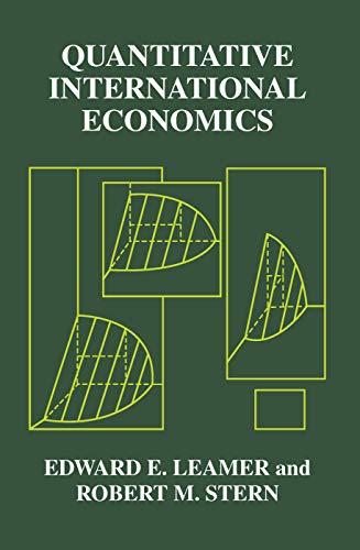 9780202308715: Quantitative International Economics