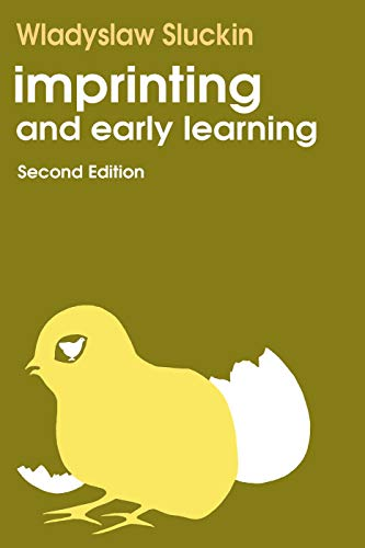 9780202308913: Imprinting and Early Learning