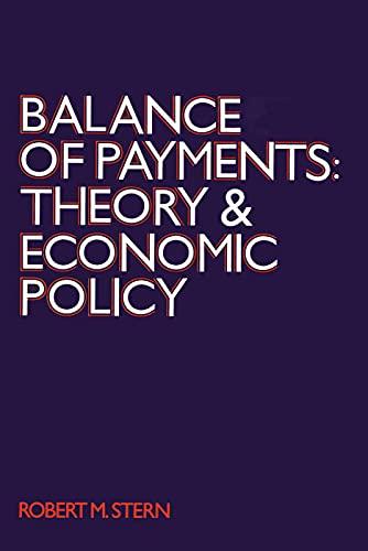 9780202308937: Balance of Payments: Theory and Economic Policy