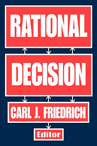 9780202309743: Rational Decision
