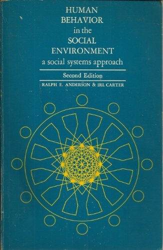 9780202360225: Human Behaviour in the Social Environment: A Social Systems Approach
