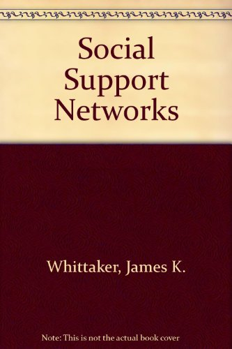 9780202360317: Social Support Networks