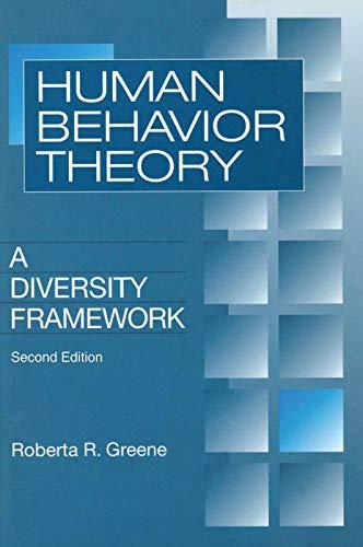 Human Behavior Theory: A Diversity Framework (Modern: Roberta R Greene