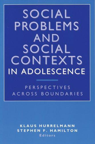 Social Problems and Social Contexts in Adolescence: Hurrelmann, Klaus