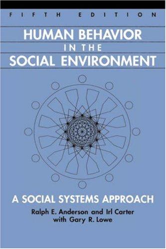 9780202361161: Human Behavior in the Social Environment: A Social Systems Approach