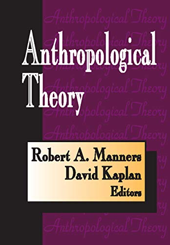 9780202361338: Anthropological Theory