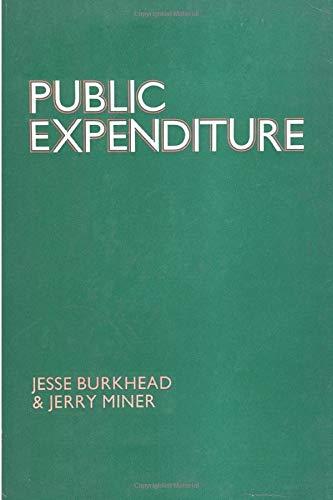 9780202361512: Public Expenditure