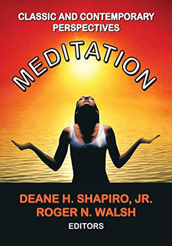 9780202362441: Meditation: Classic and Contemporary Perspectives