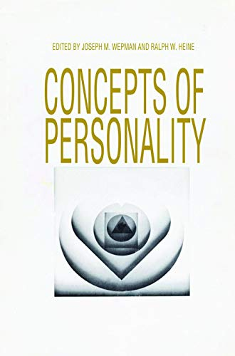 9780202362847: Concepts of Personality