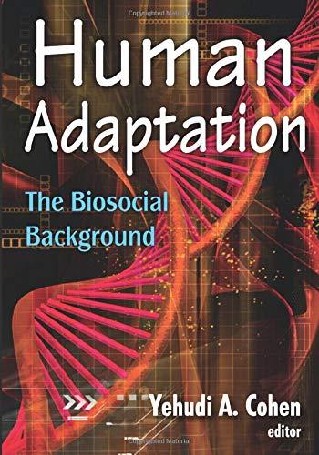 9780202363844: Human Adaptation