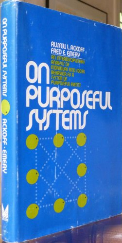 9780202370002: On Purposeful Systems