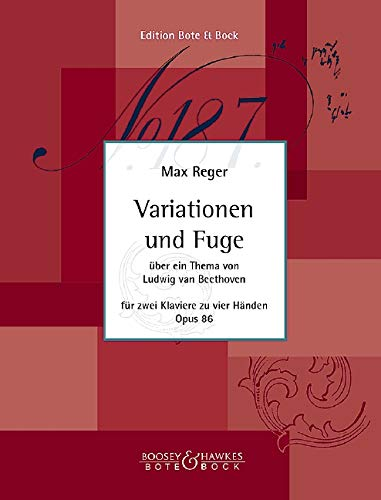 9780202503585: Variations and Fugue op. 86 (on a theme of Ludwig van Beethoven)