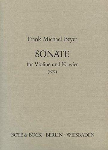 9780202513270: Sonata (1977). Partitions pour Violon, Accompagnement Piano
