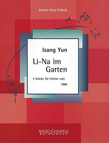 9780202515434: Li-Na in the Garden (Five Pieces)