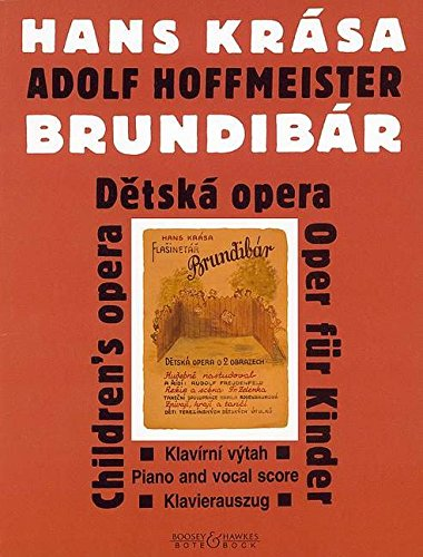 9780202517520: BOTE AND BOCK HOFFMEISTER A. - BRUNDIBAR - CHANT-PIANO Classical sheets Voice solo, piano
