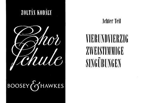 9780202518930: Chorschule Band 8 - Children's Choir - METHOD