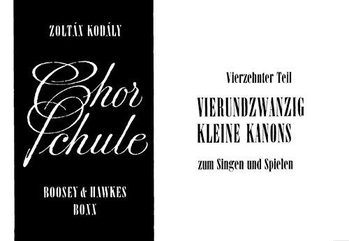 9780202518992: Chorschule Band 14 - children's Choir - METHOD