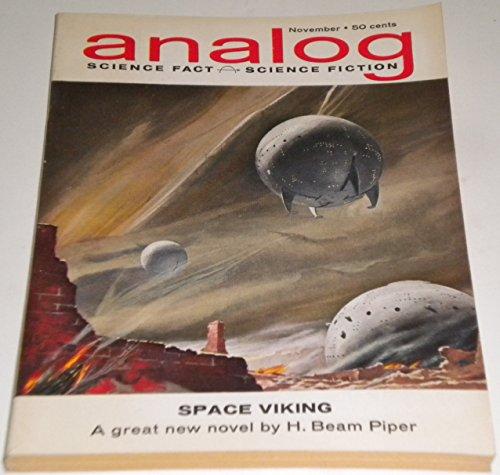 9780202862118: Analog Science Fact, Science Fiction, November 1962 (Vol. 70, No. 3)
