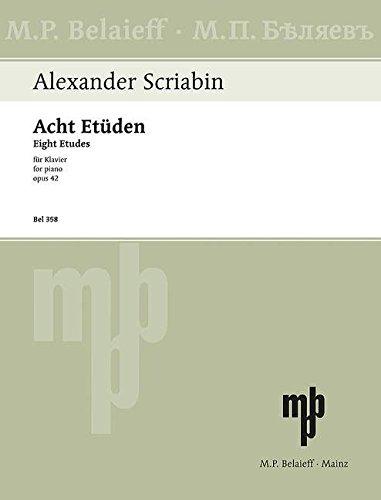 9780203001882: Scriabin: 8 Etudes, Op. 42