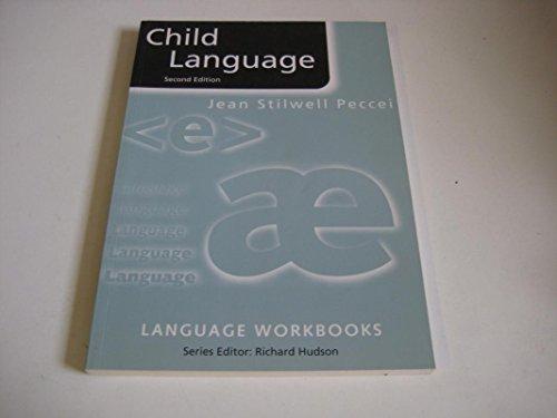 9780203058886: Child Language