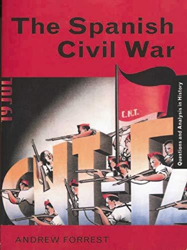 9780203134634: The Spanish Civil War