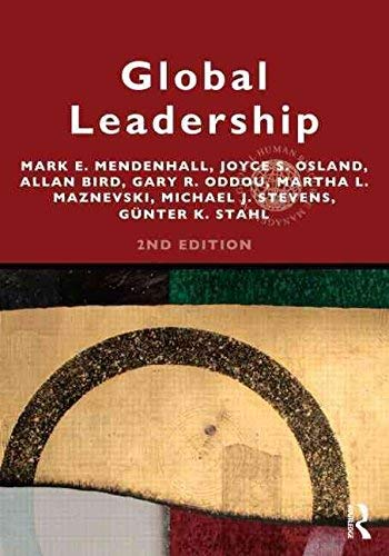 9780203138014: Global Leadership 2e: Research, Practice, and Development (Global HRM)
