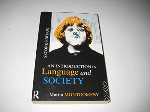 9780203139851: AN INTRODUCTION TO LANGUAGE AND SOCIETY (STUDIES IN CULTURE AND COMMUNICATION)